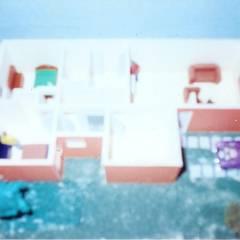 PROYECTO DE CASA HABITACION EN SAN ANDRES TUXTLA: Casas unifamiliares de estilo  por FRANCISCO MONTIEL