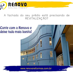 Car Dealerships by Renovo Reformas Retrofit Fachada 3473-2000 em Belo Horizonte