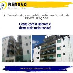 Renovo Reformas Retrofit Fachada 3473-2000 em Belo Horizonteが手掛けた会議・展示施設