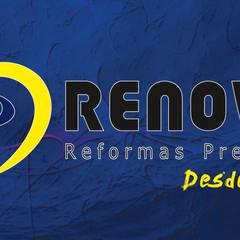 Renovo Reformas Retrofit Fachada 3473-2000 em Belo Horizonte: Clínicas  por Renovo Reformas Retrofit Fachada 3473-2000 em Belo Horizonte