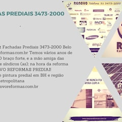 Аэропорты и морские порты в . Автор – Renovo Reformas Retrofit Fachada 3473-2000 em Belo Horizonte