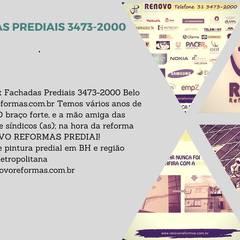 Airports by Renovo Reformas Retrofit Fachada 3473-2000 em Belo Horizonte