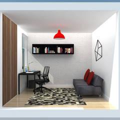 PH 513: Salas de entretenimiento de estilo  por TRIBU ESTUDIO CREATIVO, Moderno