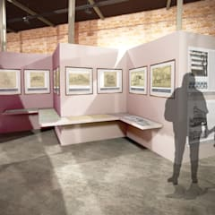 Presentación museográfica: Museos de estilo  por Arketzali Taller de Arquitectura