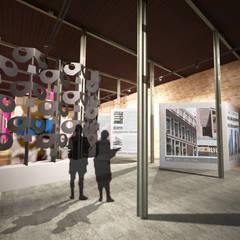 Presentación museográfica/acceso: Museos de estilo  por Arketzali Taller de Arquitectura