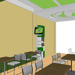 Herbalife Outlite Jl. Sulfat Malang 2012:  Kantor & toko by  the OWL