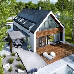 Detached home by Pracownia Projektowa ARCHIPELAG