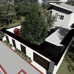 Rumah tinggal  oleh Milward Arquitetura, Eklektik