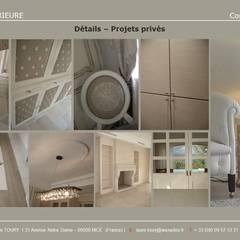 Carnets de  détails : Salle à manger de style de style Classique par Architecture interieure Laure Toury