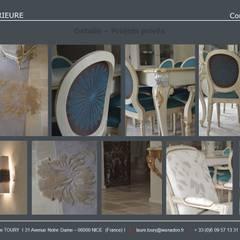 Carnets de  détails : Salle à manger de style  par Architecture interieure Laure Toury