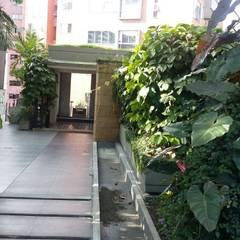 หลังคาในสวน by CH Proyectos Inmobiliarios