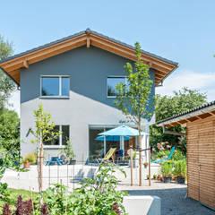 Energieeffizienzhaus Raubling:  Passivhaus von Architekturbüro Schaub