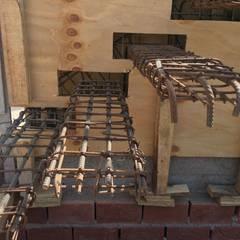 Casa SC: Pasillos y recibidores de estilo  por Development Architectural group