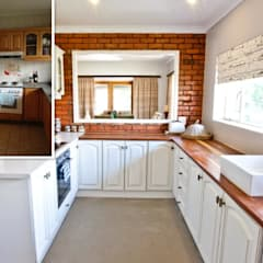 House de Goede :  Kitchen by Redesign Interiors, Minimalist