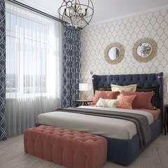 Морская квартира: Спальни в . Автор – Инна Азорская
