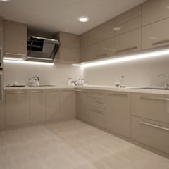 Built-in kitchens by SEVDE KASA İÇ MİMARLIK