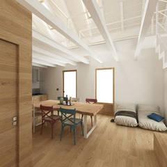 غرفة المعيشة تنفيذ dga architetti