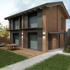 خانه ها توسطdga architetti
