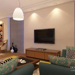 غرفة المعيشة تنفيذ Design.Studio, حداثي