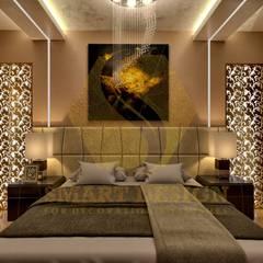 غرفة نوم تنفيذ Smart Design, حداثي