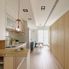 台南_住宅空間_德和大邁:  餐廳 by Moooi Design 驀翊設計