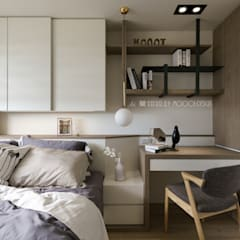 scandinavian Bedroom by Moooi Design 驀翊設計