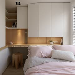 Dormitorios de estilo  por Moooi Design 驀翊設計