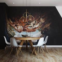 The amazing...: Salas de jantar  por DZINE & CO, Arquitectura e Design de Interiores