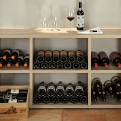 Wine Racks:  Wine cellar by Regalraum UK , Rustic