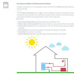 Simulatore Energetico - Dati di Esempio ed Informazioni: Spazi commerciali in stile  di Tucommit