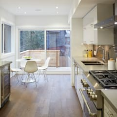 Montrose Ave Project: minimalistic Kitchen by Contempo Studio