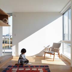 بيت زجاجي تنفيذ *studio LOOP 建築設計事務所 , حداثي