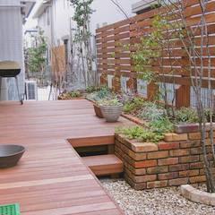 「Frank Style」: GAZON~ガゾン~が手掛けた庭です。