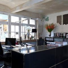 unser Arbeitsloft in Bielefeld Mitte:  Arbeitszimmer von Anke Anstoetz Personal Interior Design