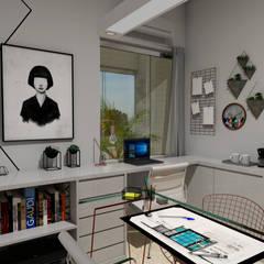 Study/office by Camila Araújo Arquitetura + Interiores