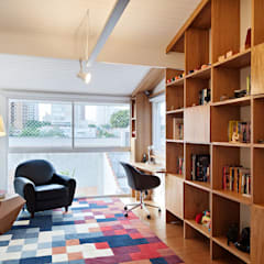 Ruang Kerja oleh ODVO Arquitetura e Urbanismo, Modern