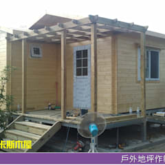 田園風原木屋-實績案例分享:  木屋 by 金城堡股份有限公司