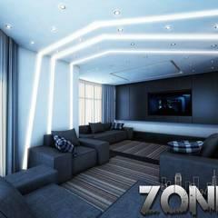 غرفة المعيشة تنفيذ Zoning Architects, حداثي