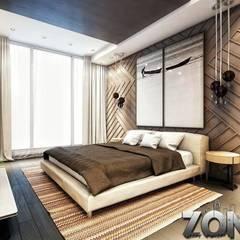 غرفة نوم تنفيذ Zoning Architects