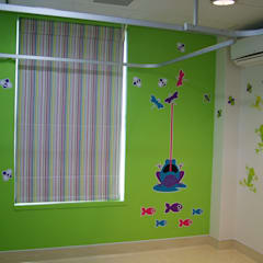 Entabeni Paeds ward, Life healthcare, Durban:  Nursery/kid's room by BHD Interiors,