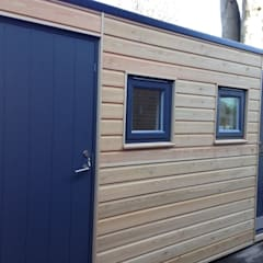 Timber, SIPS & Cladding:  Garden Shed by Building With Frames