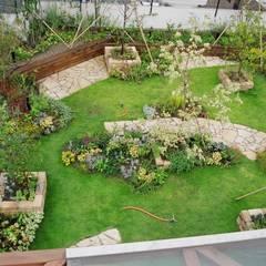庭のある暮らし: GAZON~ガゾン~が手掛けた庭です。