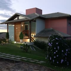 Rumah teras by LUCIANA SIMÕES FERNANDES DE OLIVEIRA