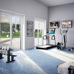 Gym by JLL Residential Development,