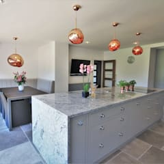 Built-in kitchens by Kitchencraft