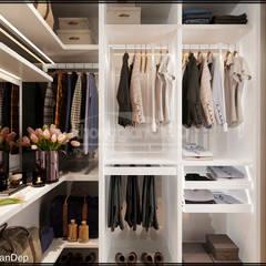 Phòng ngủ Master:  Phòng ngủ by Công ty cổ phần đầu tư xây dựng Không Gian Đẹp