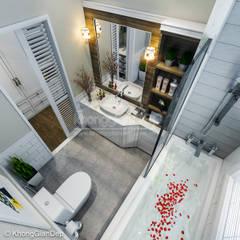 classic Bathroom by Công ty cổ phần đầu tư xây dựng Không Gian Đẹp