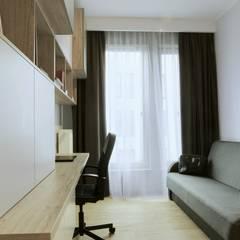 Hotelowe wnętrze: styl , w kategorii Domowe biuro i gabinet zaprojektowany przez Perfect Space