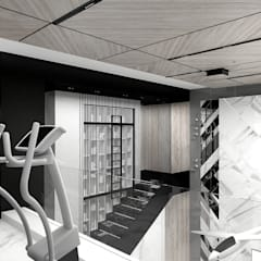 ON THE RIGHT TRACK | I | Wnętrza domu: styl , w kategorii Siłownia zaprojektowany przez ARTDESIGN architektura wnętrz,