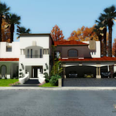 Projekty,  Dom jednorodzinny zaprojektowane przez gciEntorno